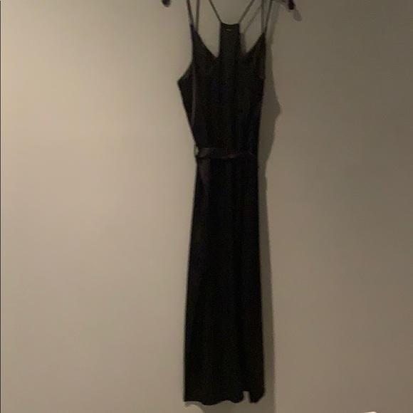 Halston Heritage Dresses & Skirts - Halston Black Satin Dress
